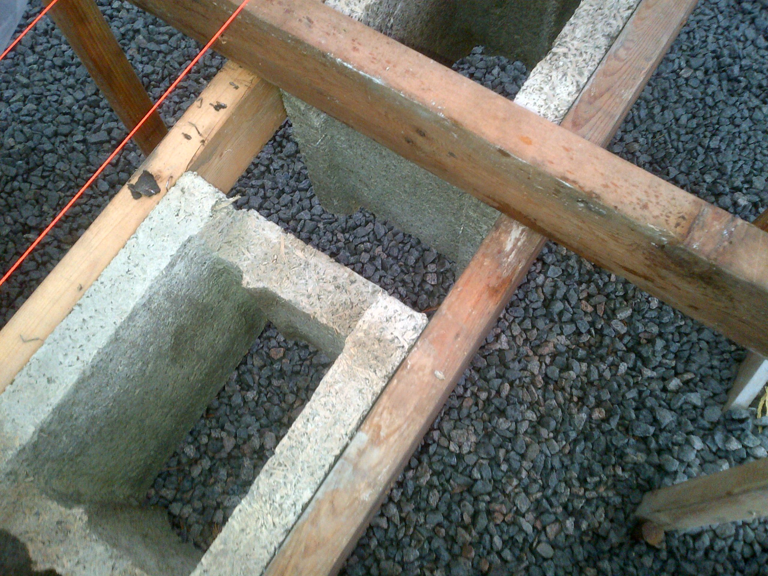 Step 1 - Secure blocks on both sides and measure gap.