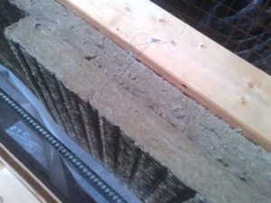 "Most of the house had two layers of 2"" Mineral Wool"