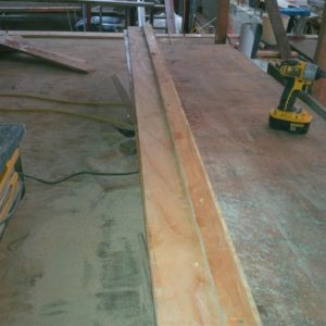 8' Skill Saw Cutting Rail