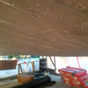 I continue to have problems with condensation buildup on underside of tarp