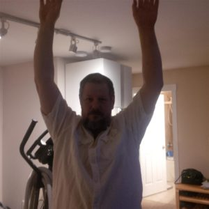 I know - big deal, but I have not been able to raise my left arm like this since last May