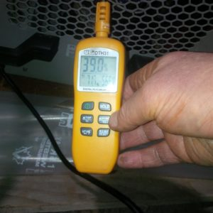 Rental unit spitting out 70 pints a day and provides 39% humidity and 72F air out the back end.