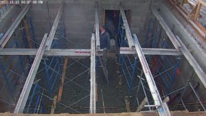 Shoring Frames and Beams installed